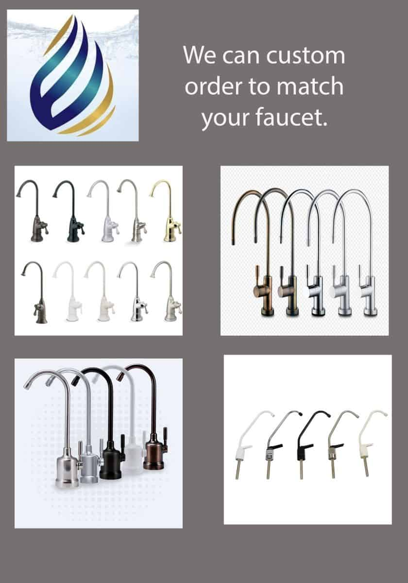 We Can Custom Order to Match Your Faucet